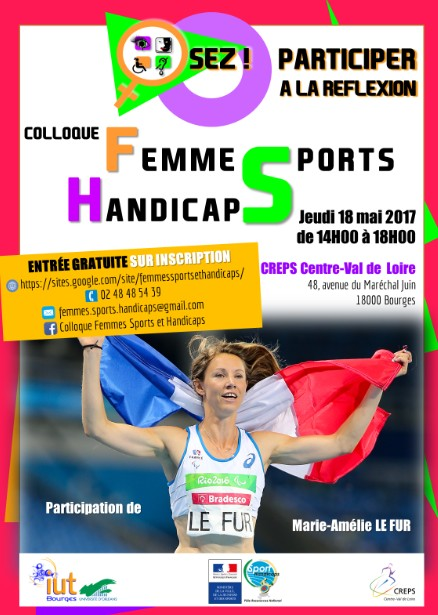 AFFICHE COLLOQUE FEMMES SPORTS HANDICAPS VF