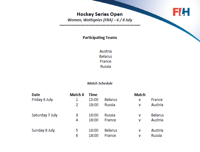Planning Hockey Series V2