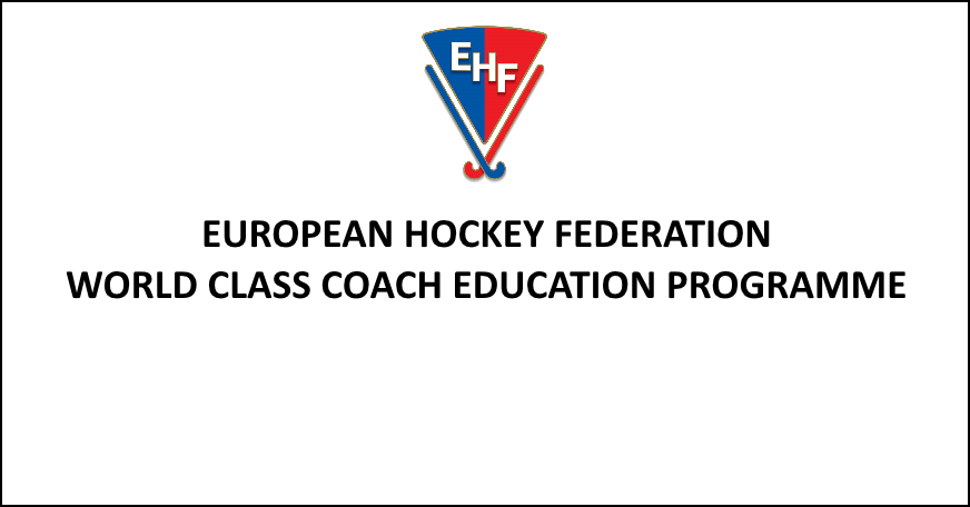 EHF COACH EDUCATION PROGRAMME 2020