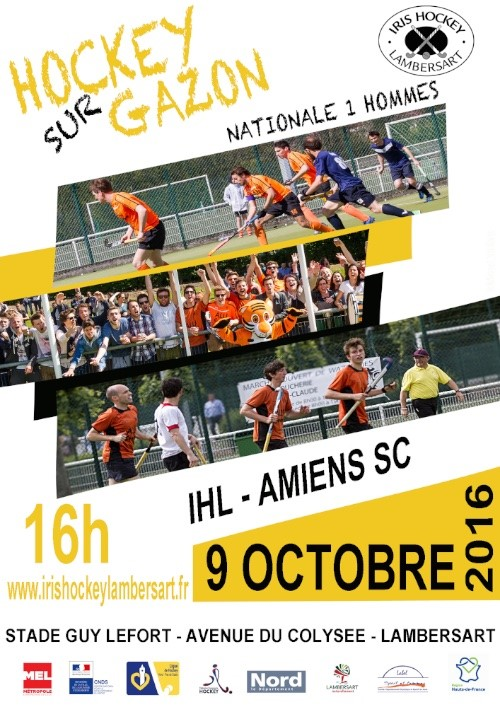 IHL AMIENS SC Nationale 1 Hommes