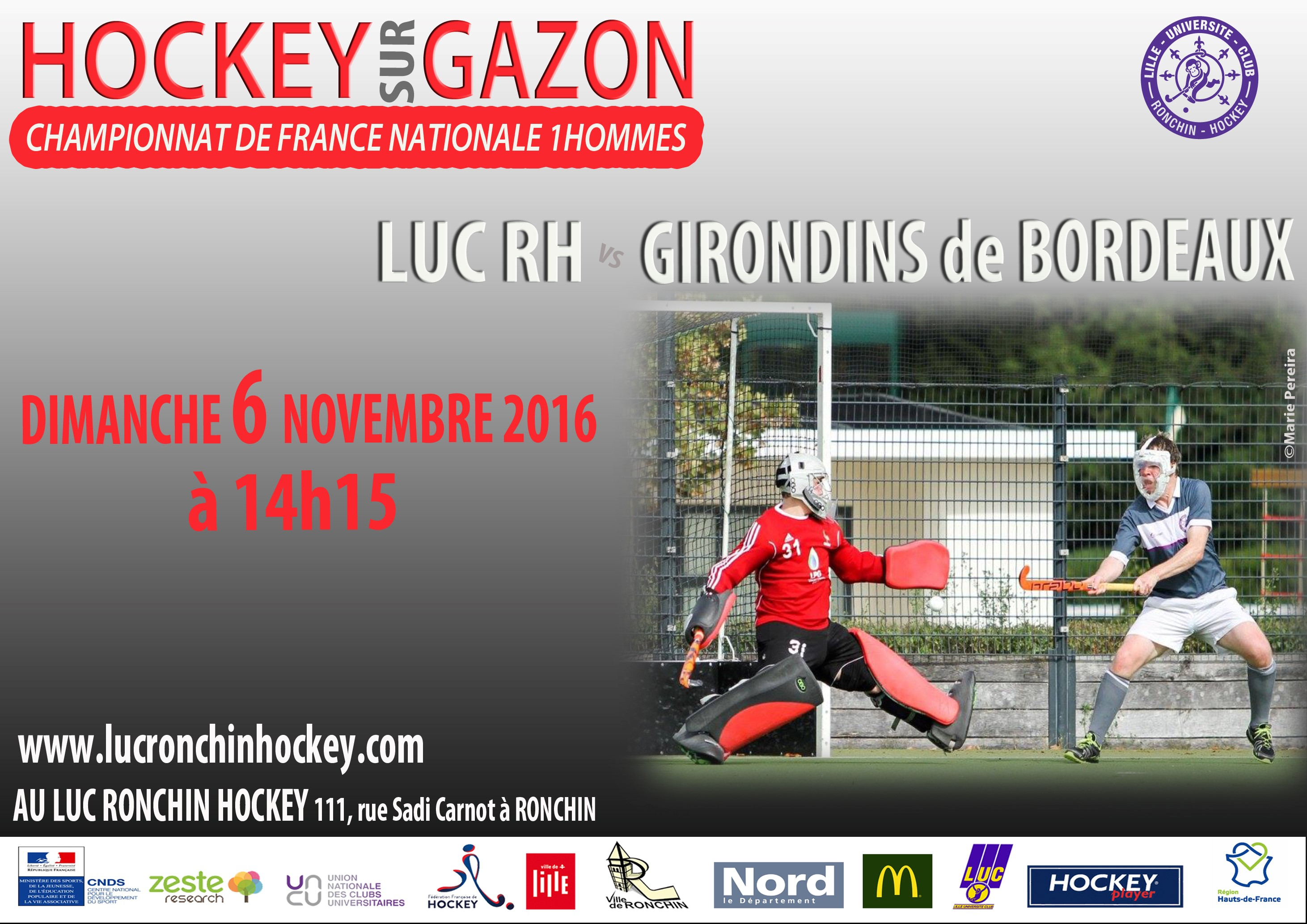 LUC RONCHIN vs BORDEAUX N1H