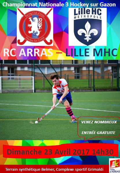 RC ARRAS LILLE MHC 3 N3 Hommes