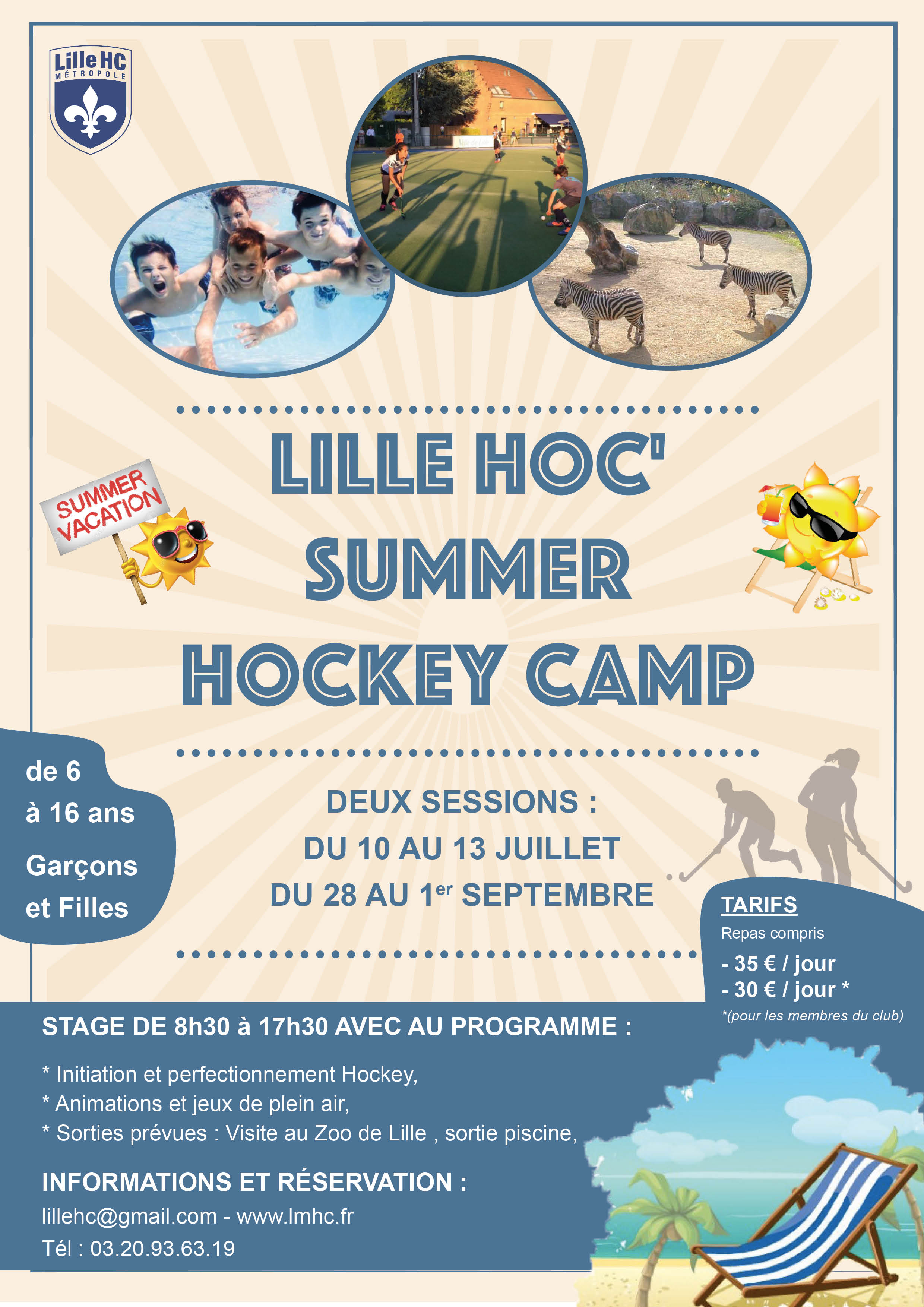 Lille Hoc Summer Hockey Camp