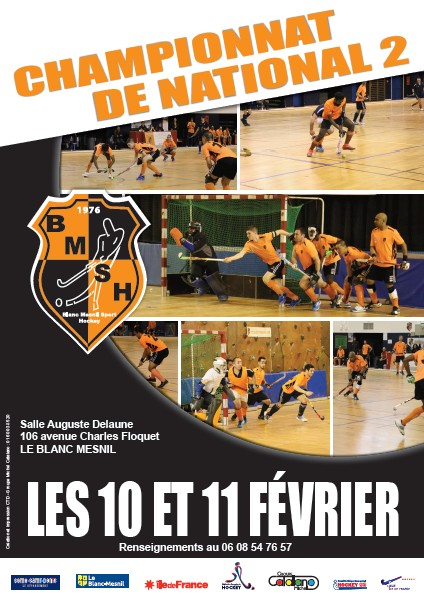 Nationale 2 Salle BMSH