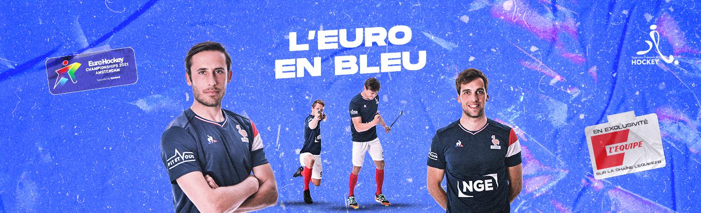L'Euro en bleu