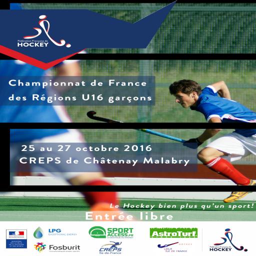 Affiche CFRégionsU16Garçons