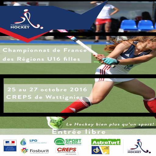 Affiche CFRégionsU16Filles
